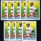 1989 Topps Stickercard TONY GWYNN Card Lot Padres