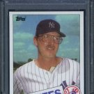 1985 Topps #612 MIKE ARMSTRONG Card PSA 9 Yankees