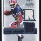 2007 SP Rookie Threads MARSHAWN LYNCH RC Dual-Jersey
