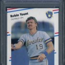 1988 Fleer #178 ROBIN YOUNT Card PSA 10 Brewers