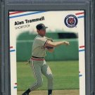 1988 Fleer #74 ALAN TRAMMELL Card PSA 10 Detroit Tigers
