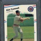 1988 Fleer #74 ALAN TRAMMELL Card PSA 10 Detroit Tigers