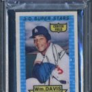 1974 Kellogg's #45 WILLIE DAVIS 3-D Card PSA 9 Dodgers