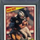 1984 Topps #106 TODD CHRISTENSEN Card PSA 9 Raiders
