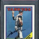 1988 Topps #611 TOMMY JOHN Signed Card PSA/DNA Angels