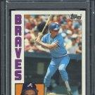 1984 Topps #255 Bruce Benedict Card PSA 10 Braves