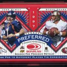 1997 Donruss Preferred Tins #9 John Elway & Steve Young