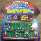 1997 Galoob 49ers All-Star MVP's Set; Jerry Rice, Young