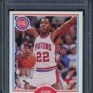 1990 Fleer JOHN SALLEY Card PSA 10 Detroit Pistons