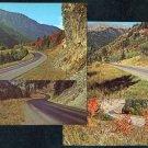 Snake River Canyon/US Interstate 26 WY Postcard Lot (4)