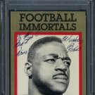 1985 Immortal ROOSEVELT BROWN Auto Card PSA/DNA Giants