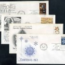 1971 Canada Stamp First Day Cover Lot (S. Hearne FDC+)