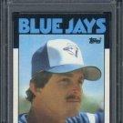1986 Topps #74 RANCE MULINKIS Card PSA 10 Blue Jays