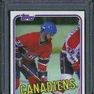 1981 Topps #34 STEVE SHUTT Card PSA 10 Canadiens HOF
