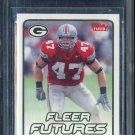 2006 Fleer #101 A.J. HAWK RC BGS 9.5 Packers