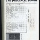 Precancel (Stamp) Forum Magazine, 1987 Year Set