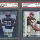 FSU/Bengals 2000 PETER WARRICK RC PSA 10+ Graded Lot