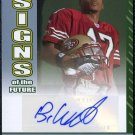 2006 Bowman #SF-BW BRANDON WILLIAMS Auto RC 49ers