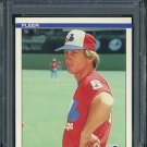 1984 Fleer #293 JIM WOHLFORD Card PSA 10 Expos