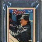 1988 Topps American #50 JACK MORRIS Card PSA 10 Tigers
