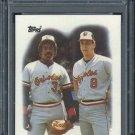 1988 Topps #51 Eddie Murray/Cal Ripken Jr Card PSA 9