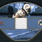 2003 Fleer Focus RICKY WILLIAMS GU Jersey Card #/100