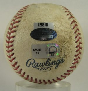 2007 Cardinals-Mets Game Used Baseball Steiner, Pujols