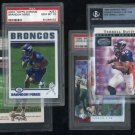Denver Broncos PSA/BGS/SGC Graded Card Lot, Elway+