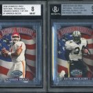 2000 Donruss Graded National Treasures BGS Card Lot