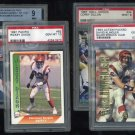 Cincinnati Begnals PSA/BGS Graded Card Lot; Dillon RC+
