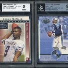 2000 Donruss Pref QBC Graded STEVE McNAIR BGS Card Lot