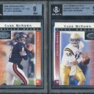 2000 Donruss Preferred Graded CADE McNOWN BGS Card Lot