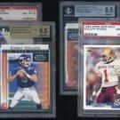 New York Giants PSA/BGS Graded Card Lot; Phil Simms+