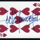Rams JACK YOUNGBLOOD Auto Played Card