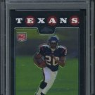 2008 Topps Chrome #TC190 STEVE SLATON RC PSA 10 Texans