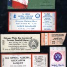 Lot of Various Sport Ticket Stubs & Related