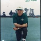 Jets/Colts Coach WEEB EWBANK Signed 8x10, Dec. 1998