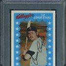 1982 Kellogg's CARNEY LANSFORD 3-D PSA 10 Red Sox