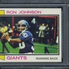 1973 Topps #350 Ron Johnson Card PSA 10, NY Giants RB