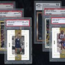 1992-2000 Basketball Rookie Card (RC) Graded PSA 10 Lot