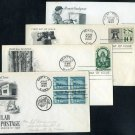 1960 US Stamp First Day Cover Lot (Air Mail FDC+)