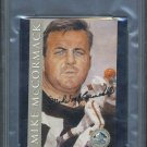 MIKE McCORMACK Signed Postcard PSA/DNA, Browns/HOF