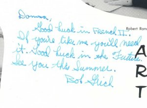 MLB's BOB GRICH's 1965 High School Yearbook w/AUTO!