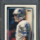 1992 Topps #711 JASON HANSON RC PSA 10 Detriot Lions