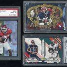 Buffalo Bills ERIC MOULDS PSA RC Graded Lot w/Bonus
