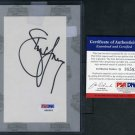 STEVE YOUNG Signed Index Card PSA/DNA Index HOF