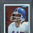 1981 Topps #223 MATT ROBINSON Card PSA 9 Broncos QB