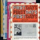 First Days Magazine Lot (FDC FDI Stamp Info)