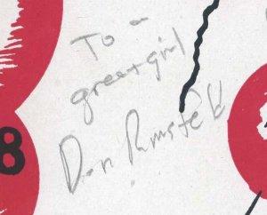 Secretary of Defense DONALD RUMSFELD Signed HS Yearbook