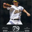 2007 Topps Moments & Milestones BARRY ZITO Card #'d /29